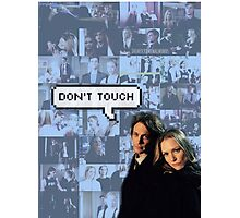 Spencer x JJ|| Dont touch Photographic Print