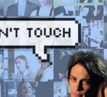 Spencer x JJ|| Dont touch Sticker
