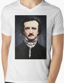 Edgar Allan Poe Mens V-Neck T-Shirt