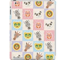 Set of funny animals  iPad Case/Skin