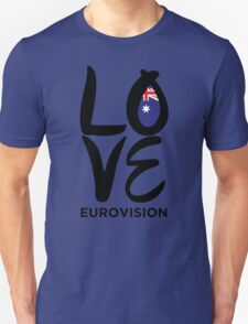 LOVE Eurovision [Australia] T-Shirt