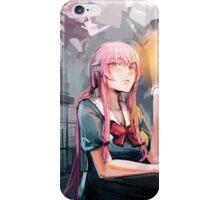 Yuno Gasai - Mirai Nikki Wet Brush Painting iPhone Case/Skin
