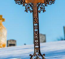 Iron Cross - Cape Breton Island Sticker