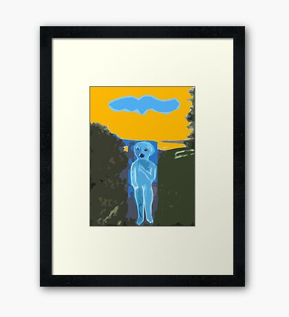 SONG FOR YOU Framed Print