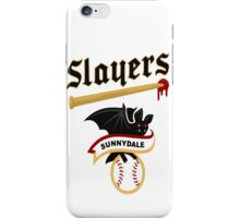 Slayers -sunnydale iPhone Case/Skin