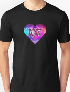 Colofrul abstract love heart (Valentine) T-Shirt
