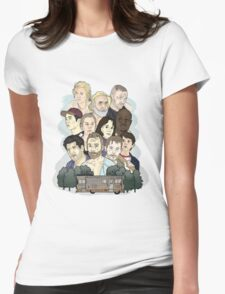 The Walking Dead / Season One Womens Fitted T-Shirt