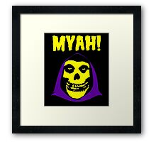 Skeletor-Misfits Composite Framed Print