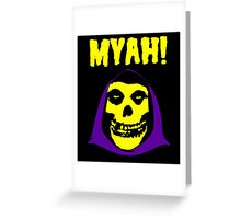 Skeletor-Misfits Composite Greeting Card