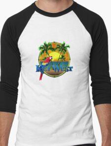 Key West Sunset Men's Baseball ¾ T-Shirt
