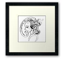.: T :. Framed Print