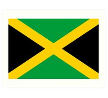 Jamaican Flag Art Print