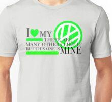 I love my volkswagen Unisex T-Shirt