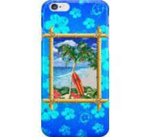 Beach Christmas iPhone Case/Skin