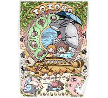 Totoro Miyazaki Poster