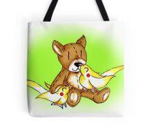 Cockatiel Cuddle Tote Bag