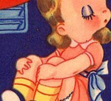 Frigid Femme Fatale Sticker