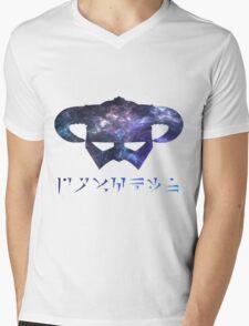 galaxy Dragonborn Mens V-Neck T-Shirt