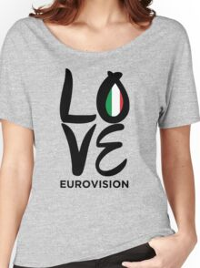 LOVE Eurovision [Italy] Women's Relaxed Fit T-Shirt