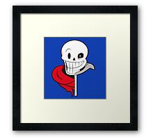 Undertale Papyrus and Sans Framed Print