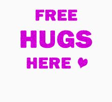 Free Hugs Here Women's Fitted Scoop T-Shirt