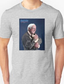 Bernie Sanders with a Cat T-Shirt T-Shirt