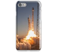 SpaceX Sunset Rocket Launch iPhone Case/Skin