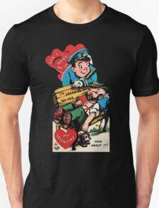 Strange Cop/Bum Romance T-Shirt