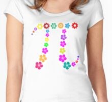 Pi floral beauty Women's Fitted Scoop T-Shirt