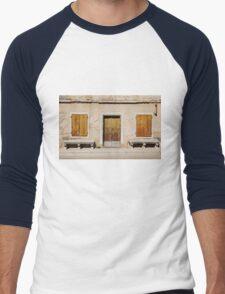 Building in Pazin Men's Baseball ¾ T-Shirt
