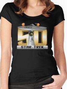 Trek Bowl 50 Women's Fitted Scoop T-Shirt