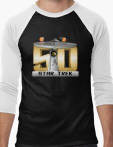 Trek Bowl 50 Men's Baseball ¾ T-Shirt
