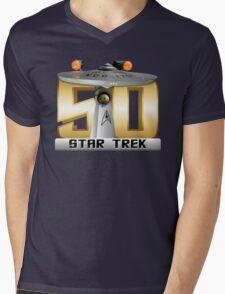 Trek Bowl 50 Mens V-Neck T-Shirt