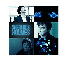 Sherlock Blue and Black Aesthetic by deanwinchesters