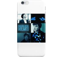 Sherlock Blue and Black Aesthetic iPhone Case/Skin