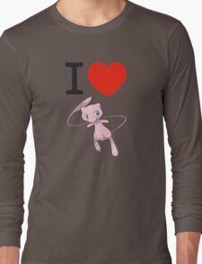 I Love Mew Long Sleeve T-Shirt