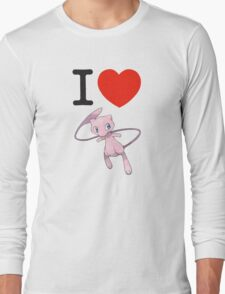 I Love Mew Long Sleeve T-Shirt