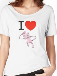 I Love Mew Women's Relaxed Fit T-Shirt