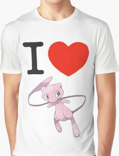 I Love Mew Graphic T-Shirt