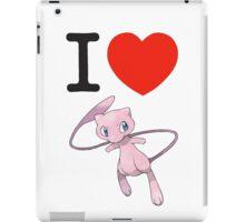 I Love Mew iPad Case/Skin
