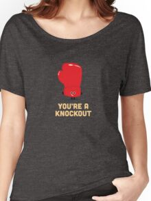Character Building - Boxing Glove Women's Relaxed Fit T-Shirt
