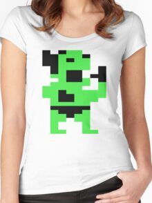 Yamo C64 Women's Fitted Scoop T-Shirt