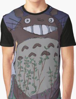 My Neighbour Totoro scene Graphic T-Shirt
