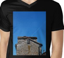 Building in Pazin Mens V-Neck T-Shirt