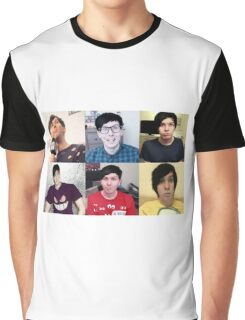 Phil Lester Collage Graphic T-Shirt