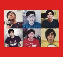 Phil Lester Collage Kids Tee