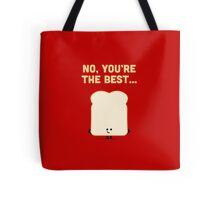 Character Building - Sliced Bread Tote Bag