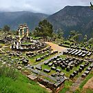 "Ancient Delphi, the ""navel"" of the World by Hercules Milas"