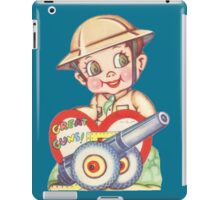 Great guns iPad Case/Skin