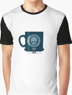 Character Building - Evil Coffee Graphic T-Shirt